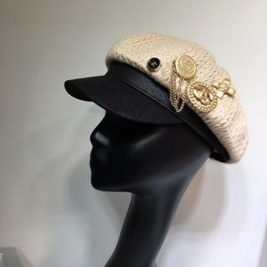 Chanel knitted hat
